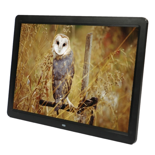 15 Inch 1280 x 800 LED Widescreen Digital Photo Frames with Holder Remote Control SD MicroSD MMC MS XD USB Flash Disk(China (Mainland))