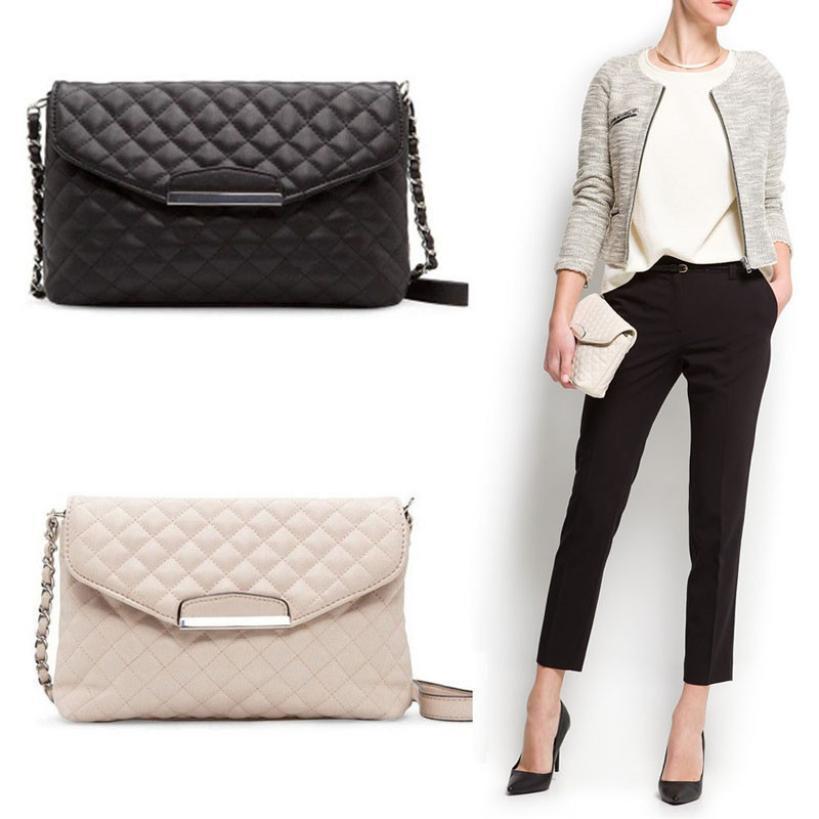 2016 Women Crossbody Shoulder Bag Fashion Leather Handbag Clutch Bag Ladies Tote Messenger Bags(China (Mainland))
