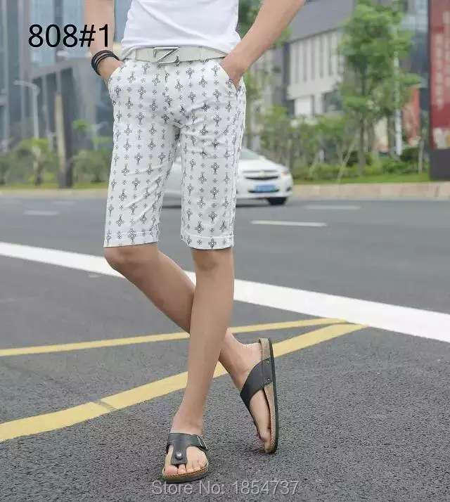 In 2015, the latest fashion men linen shorts(China (Mainland))