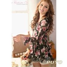 wholesale rose lace dress