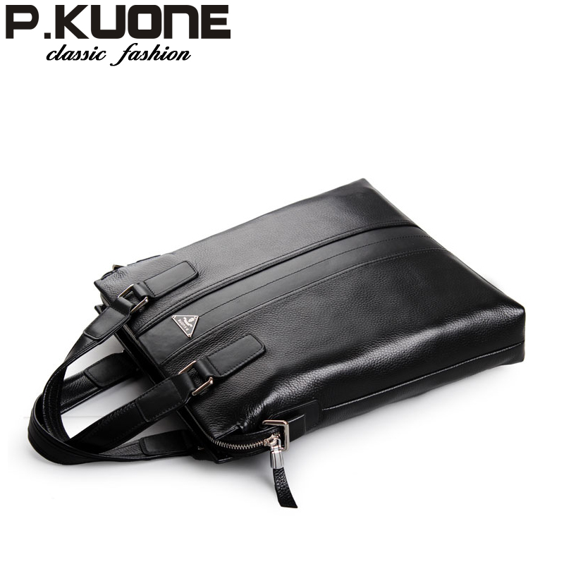 Male leather cross-body handbag genuine leather man bag business bag first layer of cowhide male shoulder bag casual bag<br><br>Aliexpress
