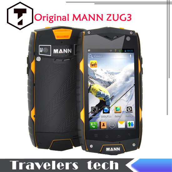 Hot sales!Original MANN phone ZUG 3 A18 IP67 Quad Core Waterproof Mobile Phone 1GB RAM 4GB ROM IPS Dustproof Shockproof runbo X5(China (Mainland))