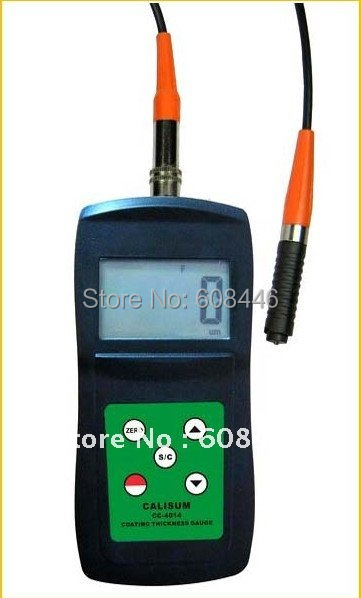 Probes measure varnish layer plastic copper zinc Coating thickness gauge CC4014(Free shipping)<br><br>Aliexpress