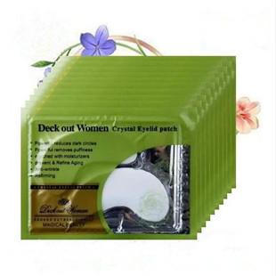 15pcs High quality White Crystal collagen Eye Mask Hotsale eye patches(China (Mainland))