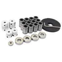 mk9 12v 0.4mm сопла 100k термистора ntc экструдер с 700 мм трубки для для 3d принтера makerbot