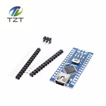 Buy Freeshipping ! 50PCS Nano 3.0 controller compatible arduino nano CH340 USB driver NO CABLE for $105.80 in AliExpress store
