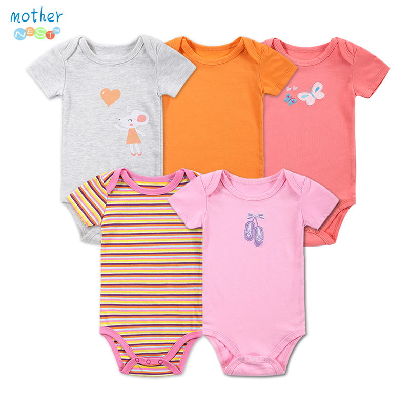 Baby Rompers 0 12Months barboteuse Short Sleeved Baby