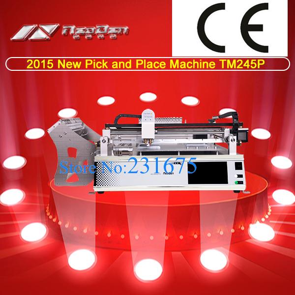 Automatic Desktop Pick and Place machine TM245P(Advanced),SMT Machine,Neoden(China (Mainland))