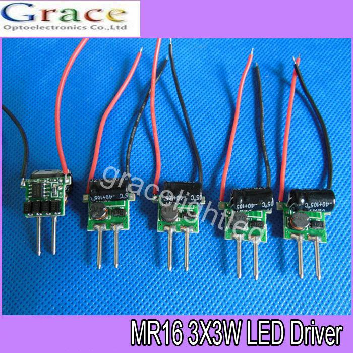 Led Mr16 Electronic Transformer Compatibility: 10pcs 3X3W LED MR16 Driver, 3*3W Transformer Power Supply