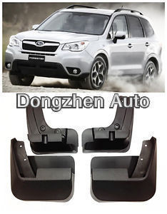 Free shipping Mud Flaps Splash Guard Fender Fit For Subaru Forester 2013 New(China (Mainland))