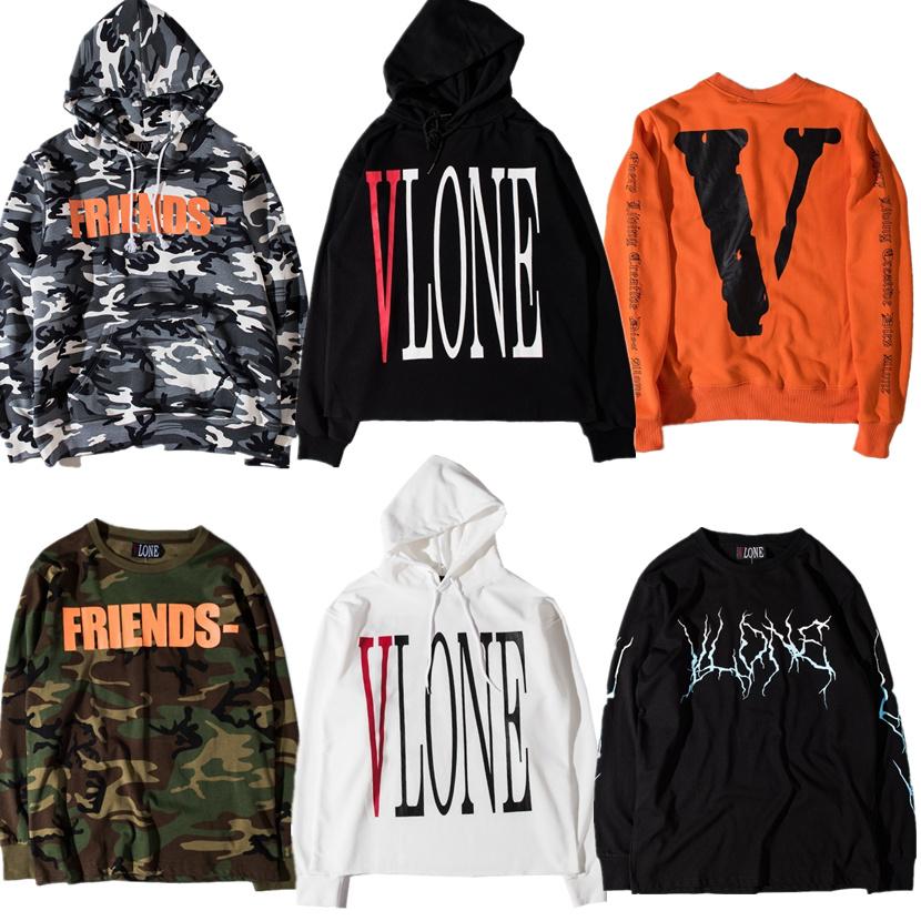 vlone hoodie men women 1 1 high quality hip hop v friend. Black Bedroom Furniture Sets. Home Design Ideas