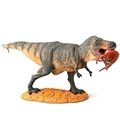 Tyrannosaurus Rex with Prey Jurassic Park Dinosaur Toy Classic Toys For Boys Children Animal Model