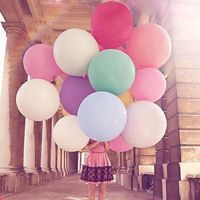 27 Inches Big Latex Balloons Globos Party Air Balloons Birthday Decoration Ballons For a Birthday Party Decoration 10pcs 5zHH003(China (Mainland))