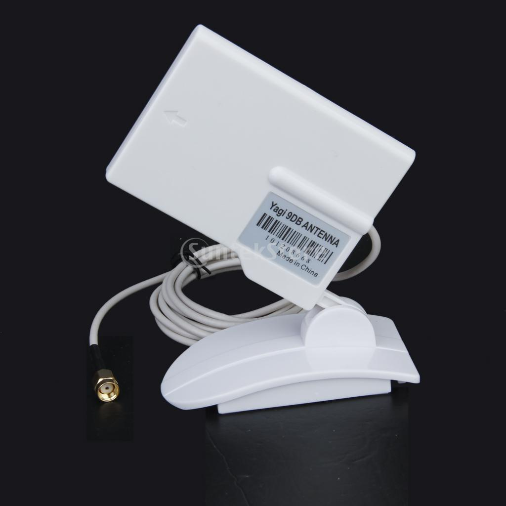 2.4GHz 9dBi Compact High Gain Yagi Directional Antenna WIFI SMA(China (Mainland))