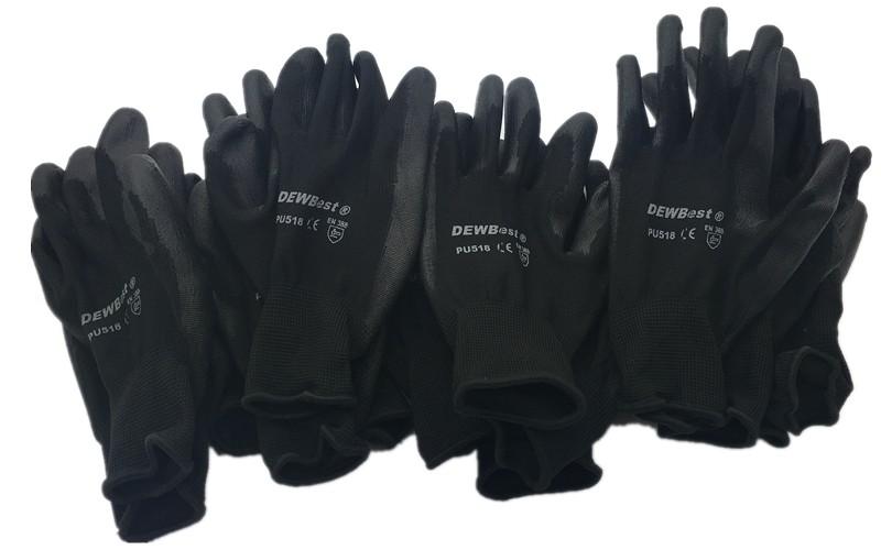 2016 workgloves pu518 safety gloves