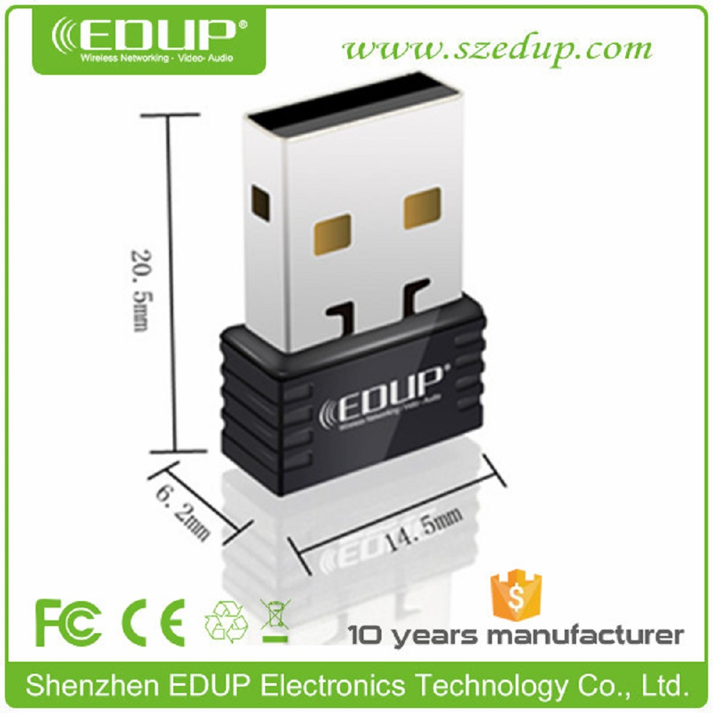 EDUP EP-N8531 150Mbps 802.11n Mini Wireless USB Wifi Adapter WiFi Antenna Adaptador WiFi Dongle(China (Mainland))