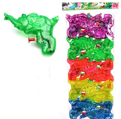 11*7*1.9CM water gun Children summer water toys Animal nozzle Gold elephant(China (Mainland))