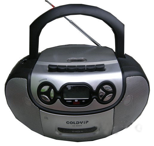 Gold cd-9234 cd bread machine tape radio cassette recorder tape<br>
