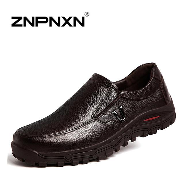 2015 Мужские туфли из натуральной кожи, ручная работа, на плоской подошве, размеры ...