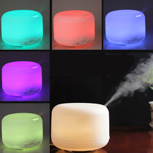 OriGlam 2 4Mhz Ultrasonic 500ML 9 LEDs 7 Colorful Light Changing Oil Aroma Diffuser Air Humidifier