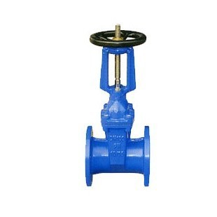 Soft sealing valve resilient seated gate valve DN20 ~ DN250 flange valve RRHX-16 Z41X-16(China (Mainland))