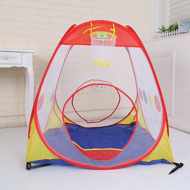 New Arrival Cartoon Tent Indoor Ball Pool Children Outdoor Leisure Climbing Toy Factory Direct for kid best gift No Oceal ball(China (Mainland))