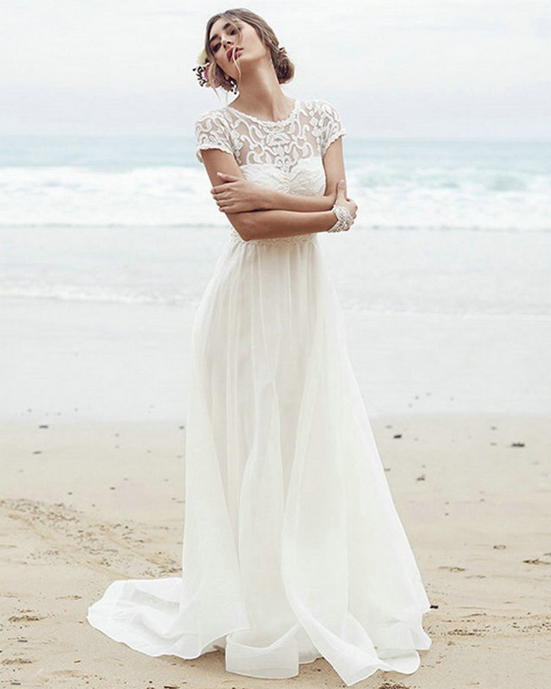 summer style wedding dresses