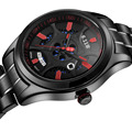 2016 New Economic Drive Watch Solar Power Quatz Watch Men s Wristwatches Stainless Steel watch Clock