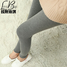 Cheap New Ms Fashion Sexy Brands Women's Big Underwearw Sport Casual Cotton Solid Color Plus Size Thin Large Leggings Pants Fat(China (Mainland))