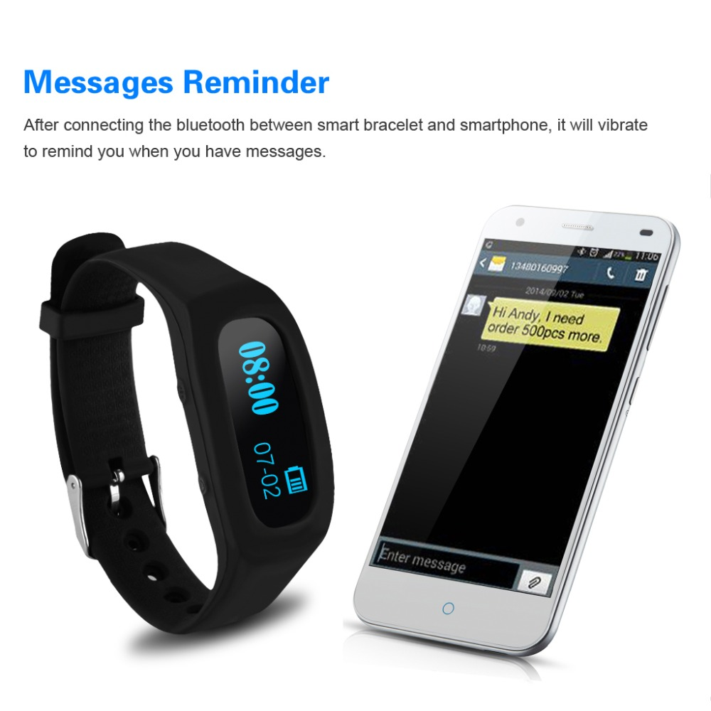 Excelvan SH04 fitness tracker Smart Healthy Sport Bracelet Bluetooth Wristband with Sleep Monitoring activity tracker for phone<br><br>Aliexpress