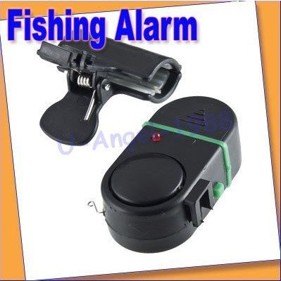 3pcs/lot NEW Electronic Bite Fish Alarm Bell Fishing Rod Pole W/ LED light +free shipping