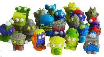 Anime 24PCS / lot Hot Garbage Monster Series Dolls Collectible Figures PVC Action Figure Funny Toys For Children & Baby Toys(China (Mainland))