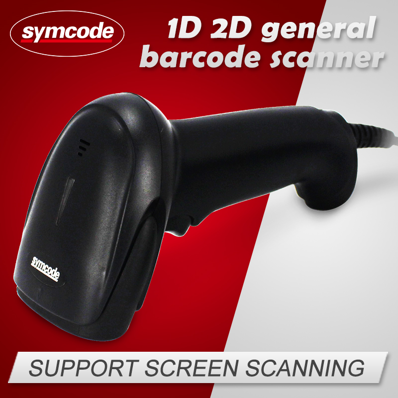 Symcode MJ-6706DS 1D 2D Barcode Scanner Portable Inventory Free Shipping(China (Mainland))
