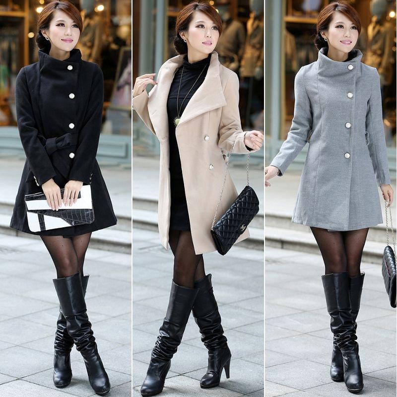 Женская одежда из шерсти # 310