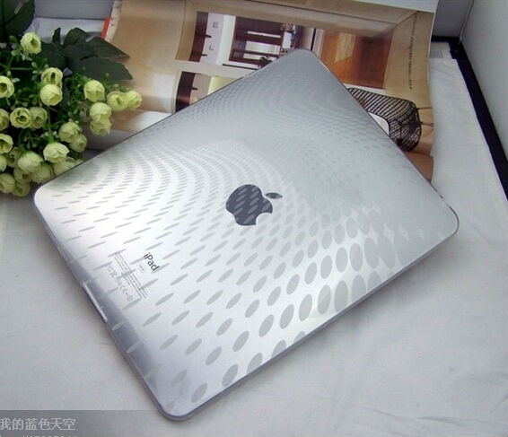 NEW CLEAR TPU SKIN COVER CASE FOR IPAD1 1ST GEN + Free Shipping(China (Mainland))