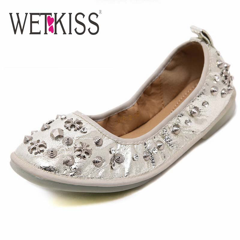 2016 Spring Casual Women Flats Fashion Square Toe Shoes Woman Metal Charm Rivets Flats Flat Sole Women Shoes Zapatos Mujer<br><br>Aliexpress