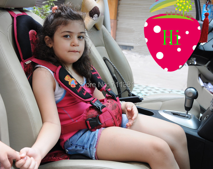 Child Safety Seat Baby Car Seat Portable Cushion Car Adjustable Suspenders(China (Mainland))