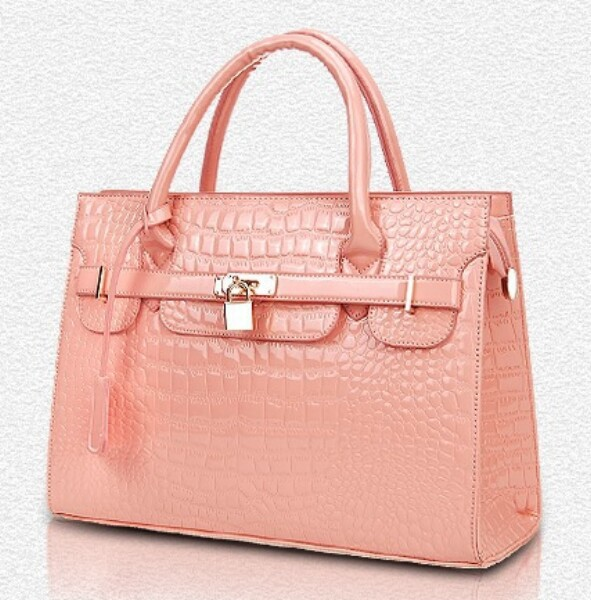 The new brand quality goods fashion bag Fashion female bag Crocodile grain portable his single shoulder bag(China (Mainland))