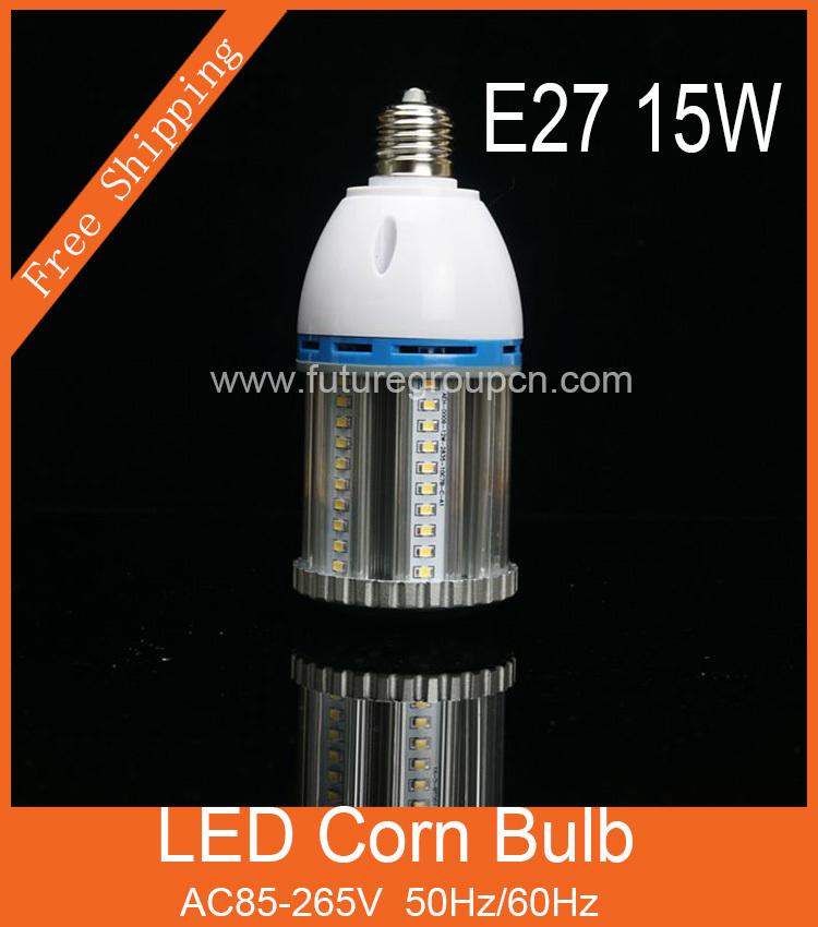360 Degree15W LED Corn Bulb / Led Lamp E27 Stadium Light /Led Factory lighting LED High Bay Light 3 Year Warranty Warehouse Lamp<br><br>Aliexpress