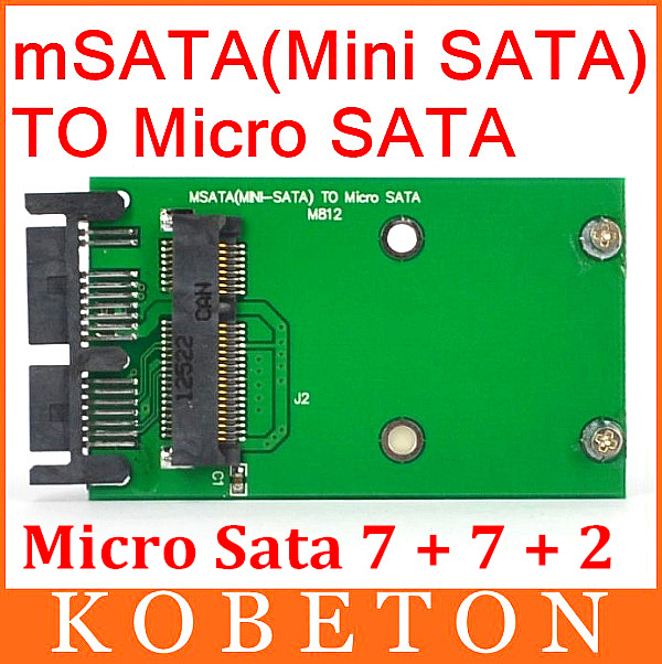 "AK msata to MSata PCI-E Express SSD 1.8"" to 2.5"" Micro SATA HDD Converter Mini sata to MSata PCI E to Sata Adapter(China (Mainland))"