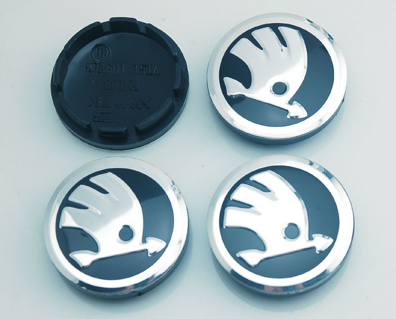 4pcs/lot 56.5mm Car Emblem Badge Wheel Hub Caps Center Cover For Skoda Octavia Fabia Superb Rapid Yeti Free Shipping<br><br>Aliexpress