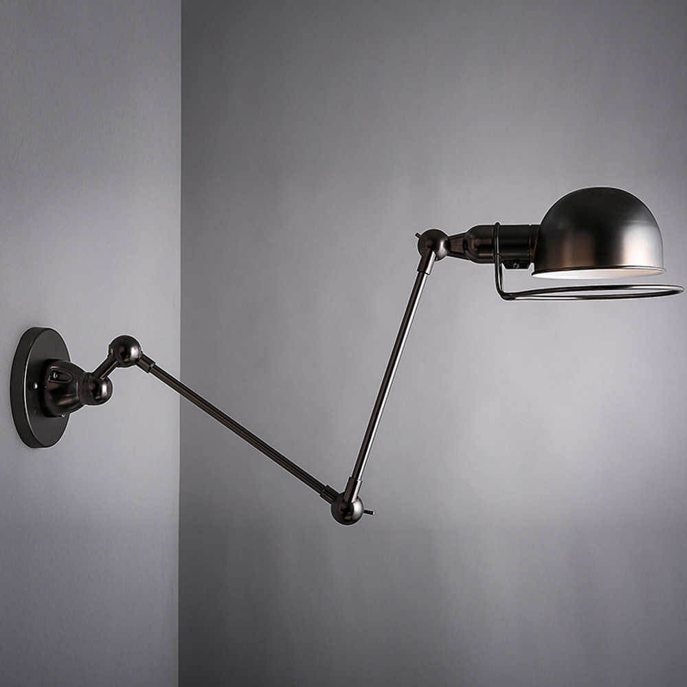 Wall Lights In Sheffield : Art Decorative Swing Arm Light Black/Golden Nordic Vintage Loft Wall Lamp Sconce Aisle/Bar/Cafe ...