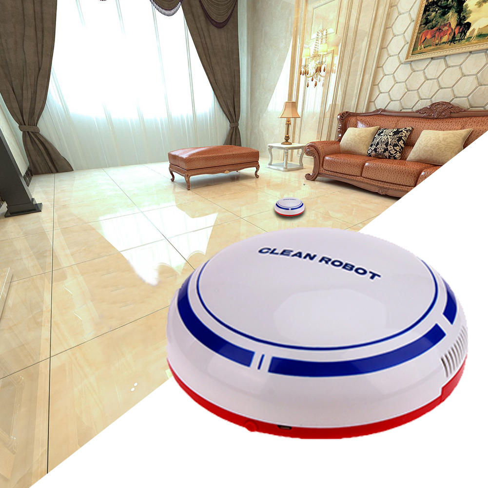 Intelligent House Cleaning Robot USB Charge Cartoon Sweep Robot Mini Wireless Automatic Clean Robots Household Brooms Dustpans(China (Mainland))