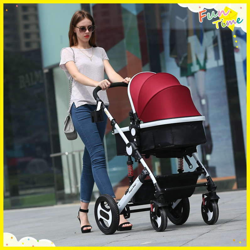 Jogging Strollers 4 Colors Suit For 0-36Months Lovely Baby The Safest Mechanical Brake 7 Gifts For You Hot Selling On Sale<br><br>Aliexpress