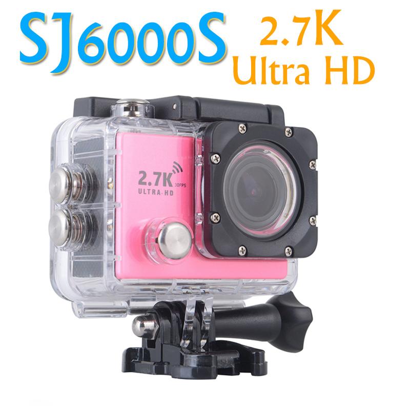 2016 SJ6000s WIFI 2.7K Sport Action 1080P Ultra HD Action Camera Diving 30M Waterproof Sport Camera 2.0 inch LCD Sports DV Cam<br><br>Aliexpress