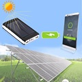 2016 Hot selling 50000 mAh Solar Power Bank Battery Charger Dual USB For Mobile Phone PDA