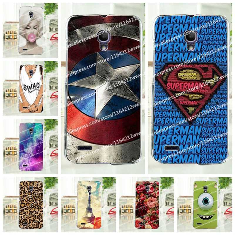 16 Styles Colorful Case Alcatel One Touch Pop 2 5 inch 7043 7043Y 7043K 7044 Premium Cover Free Stylus Gift - AMY Phone Store store