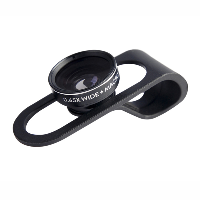 Mobile Phone Lens Vinsic Clip Fish Eye Lens 2 in 1 Wide Angle Micro Camera Lens Kits for iP 6 Plus iP5 5S Sams Phone Camera Lens(China (Mainland))