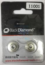 2 unids/lote diamante negro Original hoja 11001 modelo para 11115 / 11117 / 11217 cortador de tubo de A / C herramientas