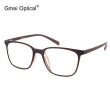 Simple Design Ultra-Light Semi-Transparent Matte Orange Optical Frame Stylish Spectacles For Women's Prescription Eyeglasses